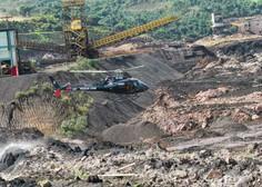 V Braziliji po zrušitvi jezu pri Belo Horizonte prijeli pet inženirjev