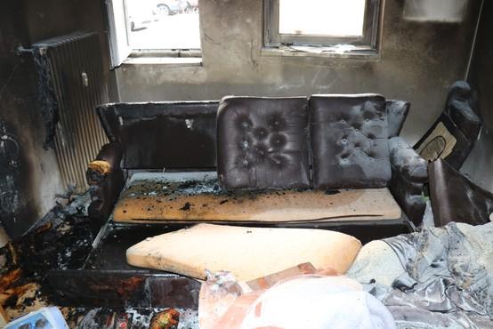 Policist Branko Zupanc je v drugem poskusu rešil življenje sosedu, ki je obtičal v gorečem stanovanju