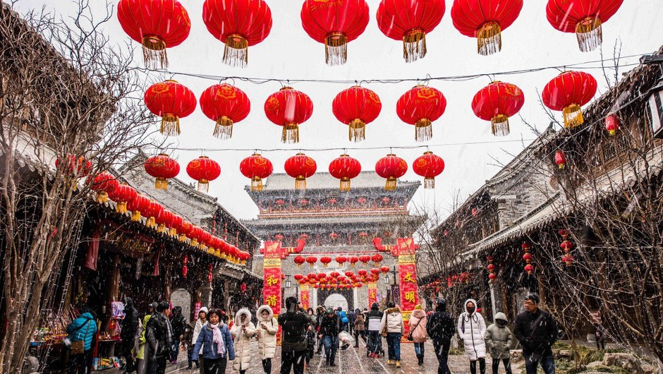 Na Kitajskem več mrtvih med praznovanjem lunarnega novega leta (foto: Profimedia)