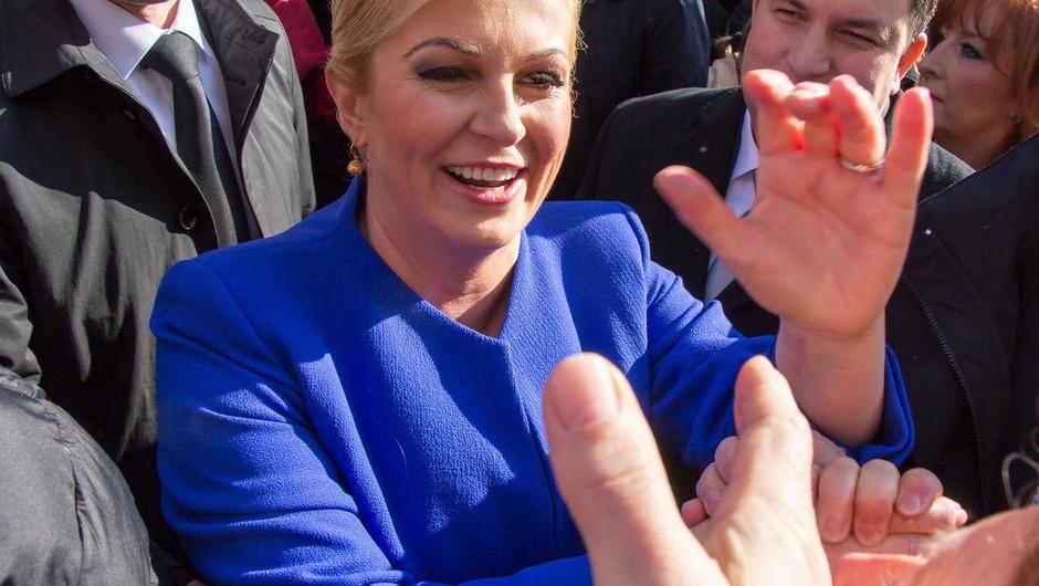 Kolinda Grabar-Kitarovićpomilostila obsojenca, ki je gojil medicinsko konopljo (foto: profimedia)