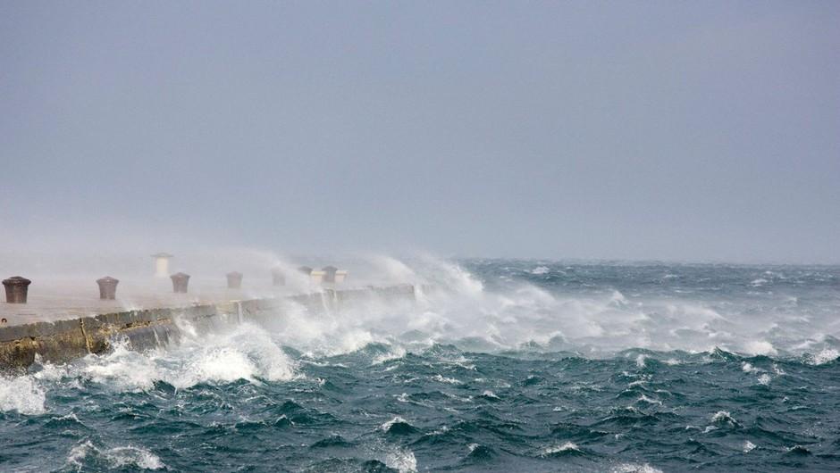Požarna ogroženost, okrepljen severovzhodni veter in močna burja (foto: profimedia)