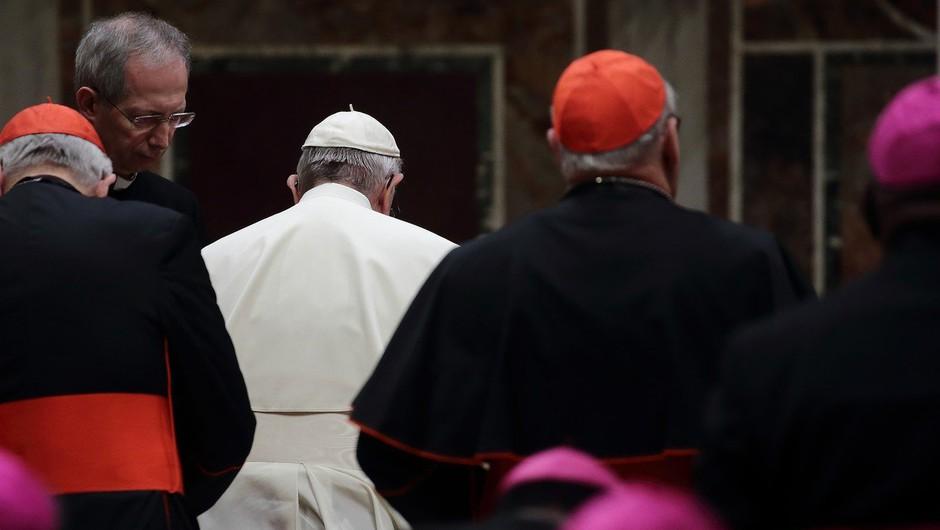 """Papež o duhovnikih, ki prežijo na otroke: """"Takšni so orodje hudiča!"""" (foto: profimedia)"""