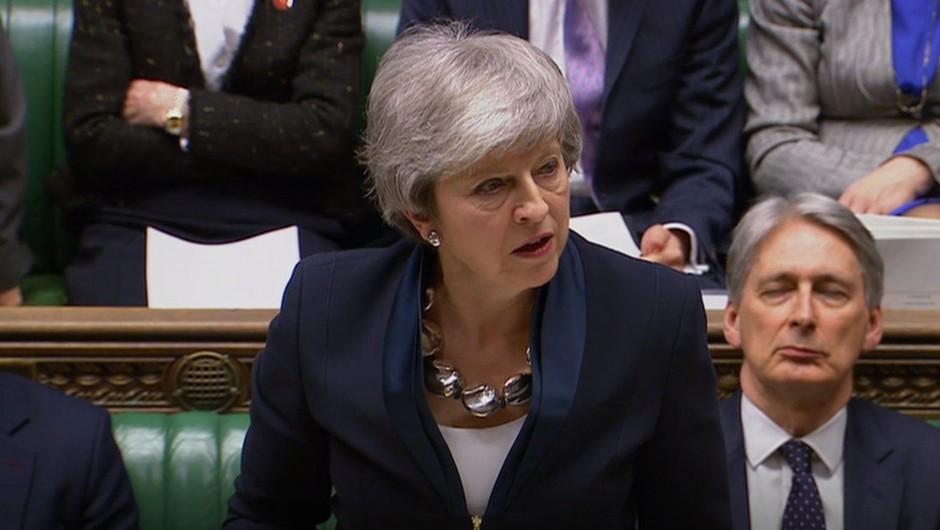 Britanski poslanci potrdili premierkin predlog o možnosti preložitve brexita (foto: profimedia)