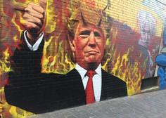 Obljubljeni zid na meji z Mehiko še naprej povzroča Trumpu sive lase!