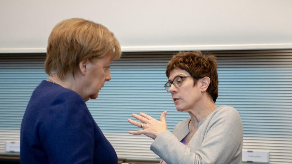 Besede Annegret Kramp-Karrenbauer, ki je na čelu CDU zamenjala Angelo Merkel, deležne očitkov (foto: profimedia)