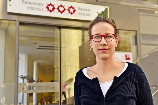 """Bíborka Molnár-Gábor: """"Navsezadnje smo tukaj, da bi se izboljšalo poznavanje Madžarske"""""""