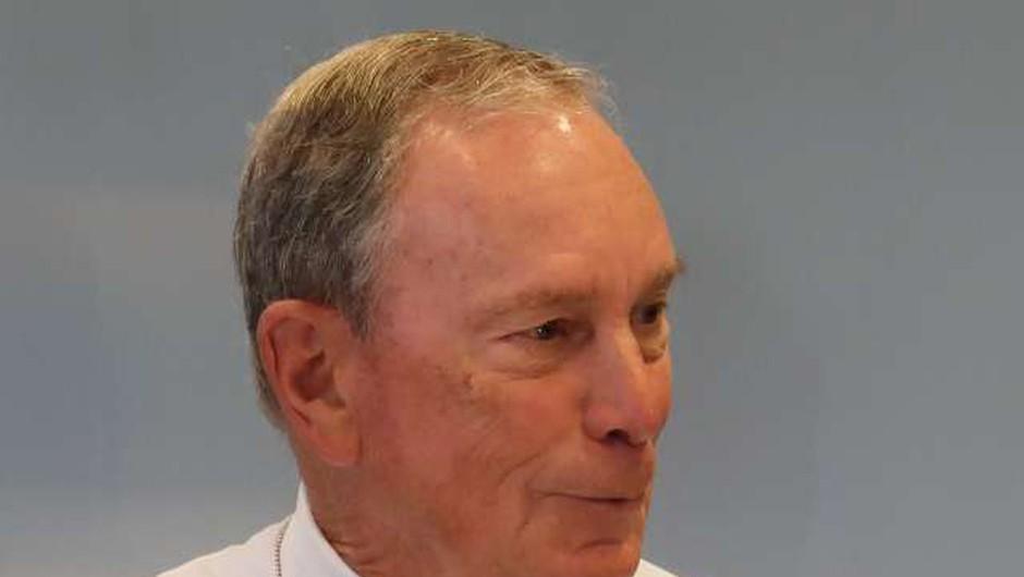 Bloomberg, milijarder iz New Yorka, ne bo kandidiral za predsednika ZDA (foto: Robi Poredoš/STA)