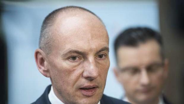 Po odstopu ministra Sama Fakina bo Šarec za novega ministra predlagal Šabedra (foto: STA)