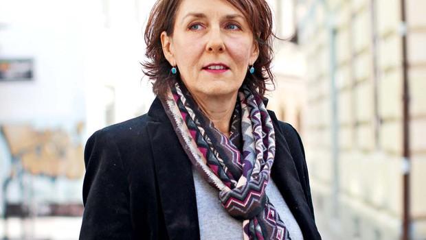 """Eva StrmljanKreslin: """"Kvečjemu sem vesela in ponosna, da sem lahko ob Vladu in z njim, ker je zelo poseben človek"""" (foto: GORAN ANTLEY)"""