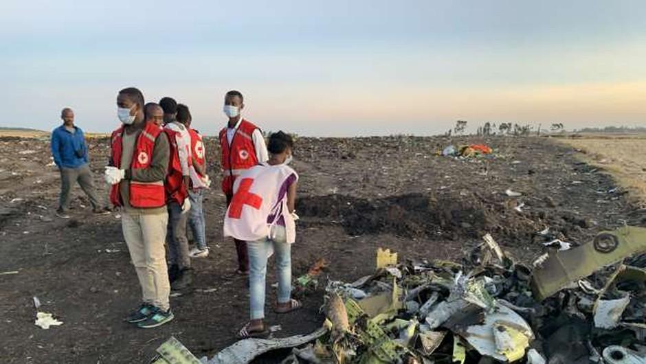 Ethiopian Airlines po letalski nesreči prizemljil svojo floto boeingov 737 max (foto: Xinhua/STA)