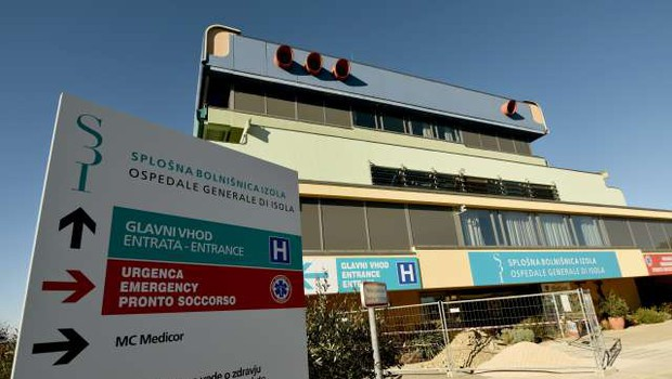 Informacijski pooblaščenec proti izolski bolnišnici uvedel inšpekcijski postopek, podatke o bolnikih umaknili (foto: STA/Tamino Petelinšek)