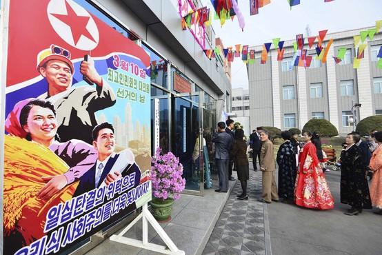 Na volitvah v Severni Koreji 99,99-odstotna udeležba