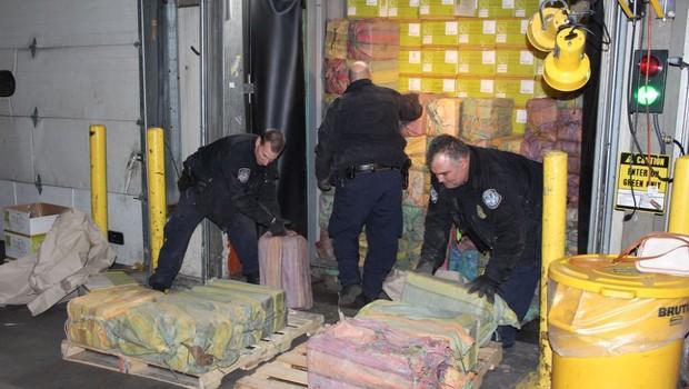 New York: Zasegli 1,5 tone kokaina, vrednega 77 milijonov dolarjev! (foto: Profimedia)