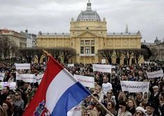 Hrvati zahtevajo, da se nasilje v družini iz prekrška spremeni v kaznivo dejanje