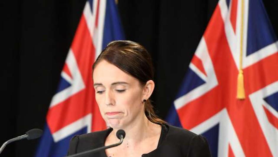 Novozelandska premierka po terorističnem napadu poziva k večji odgovornosti družbenih omrežij (foto: Xinhua/STA)