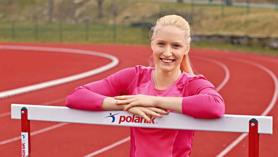 """Agata Zupin: """"Najboljši občutek je, ko na koncu treninga vem, da sem dala vse od sebe"""" (foto: GORAN ANTLEY)"""
