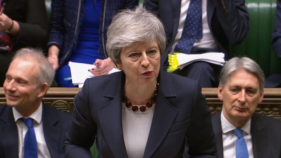 Theresa May zaradi brexita v odstopu? (foto: profimedia)