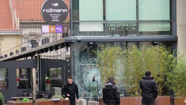 Mariborskemu županu razbili steklo na lokalu - to je tretji napad na njegovo osebno premoženje (foto: Andreja Seršen Dobaj/STA)