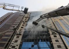 V požaru v 19-nadstropni bangladeški stolpnici umrlo več ljudi