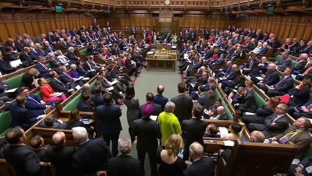 Britanski poslanci že tretjič zavrnili izstopni sporazum (foto: profimedia)