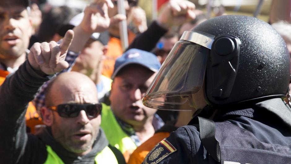 Izpraznjena Španija želi, da se sliši njen glas (foto: profimedia)