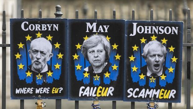 Velika Britanija bo zaprosila za nadaljnjo preložitev brexita (foto: profimedia)