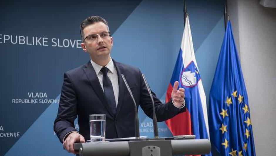"""Premier o hrvaških prisluhih: """"Skrbi nas, če je to način delovanja v EU!"""" (foto: Bor Slana/STA)"""