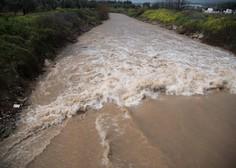 Na vzhodu Krete zaradi poplav razglasili izredne razmere