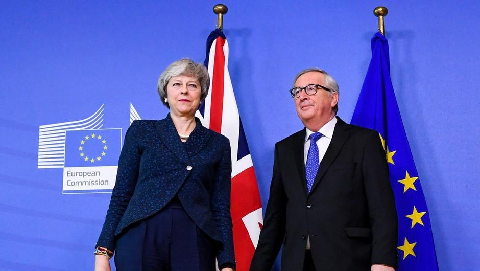 EU27 in Britanija z dogovorom o preložitvi brexita do konca oktobra (foto: Profimedia)