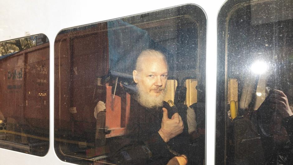 V Ekvadorju aretirali sodelavca Juliana Assangea (foto: Profimedia)