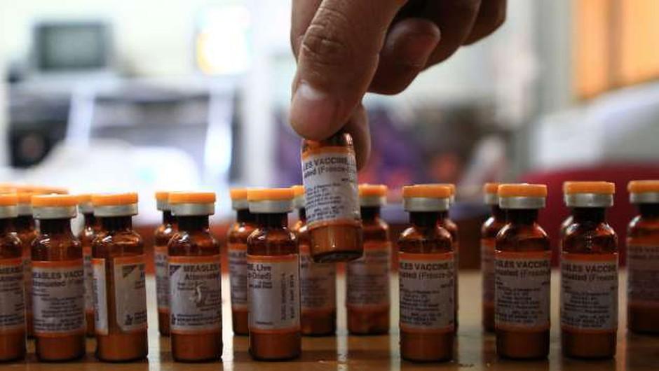 WHO: V prvem letošnjem četrtletju za 300 odstotkov več primerov ošpic! (foto: STA)