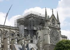 Po požaru v katedrali Notre-Dame zadoneli cerkveni zvonovi