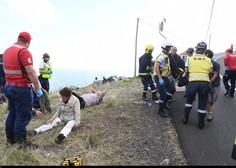 Madeira: V nesreči avtobusa 29 mrtvih, 28 ljudi je ranjenih