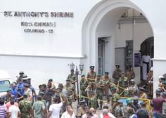 Teroristični napadi na Šrilanki terjali najmanj 207 življenj