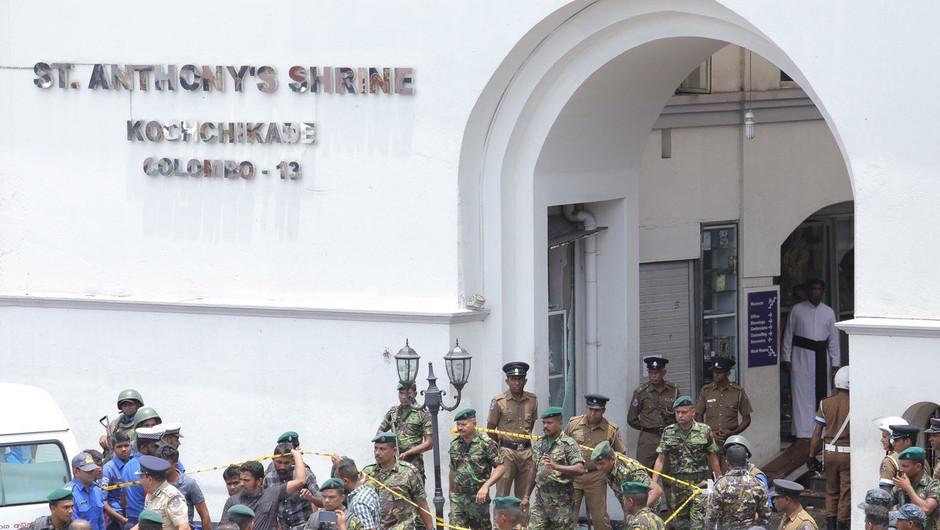 Teroristični napadi na Šrilanki terjali najmanj 207 življenj (foto: profimedia)