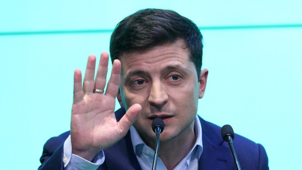 Odziv Ovse po zmagi Zelenskega na ukrajinskih volitvah (foto: Profimedia)