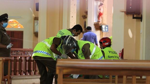 Šrilanka: Policija svari pred morebitnimi novimi napadi na verske objekte (foto: Profimedia)