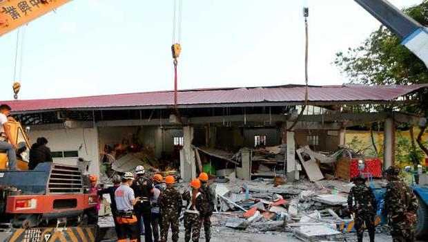 Močnejši potres stresel Filipine, o žrtvah ne poročajo (foto: STA/Xinhua)