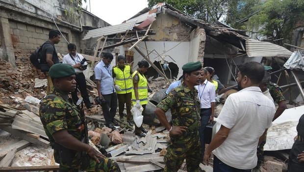 Odgovornost za napade na Šrilanki prevzela Islamska država (IS) (foto: Profimedia)