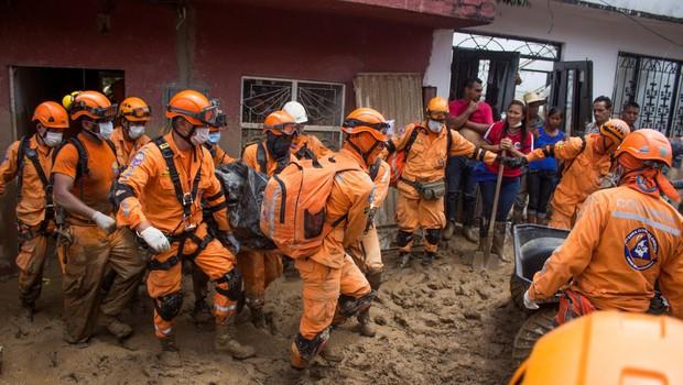 Zemeljski plaz v Kolumbiji terjal 33 žtev (foto: Profimedia)