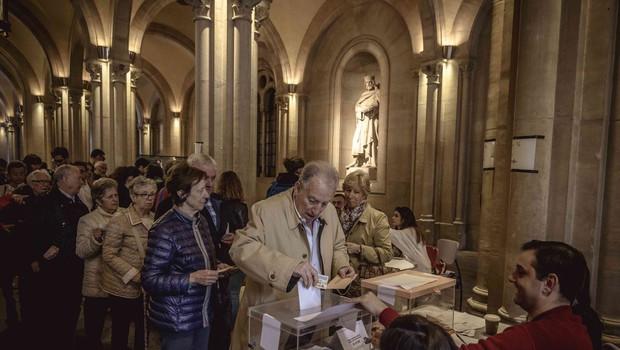 Volitve v Španiji: Po neuradnih rezultatih so največ glasov dobili vladajoči socialisti (foto: profimedia)