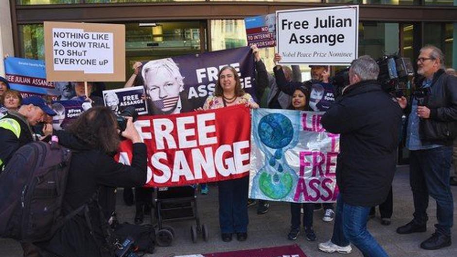 Julian Assange začel sodni boj proti izročitvi ZDA (foto: profimedia)