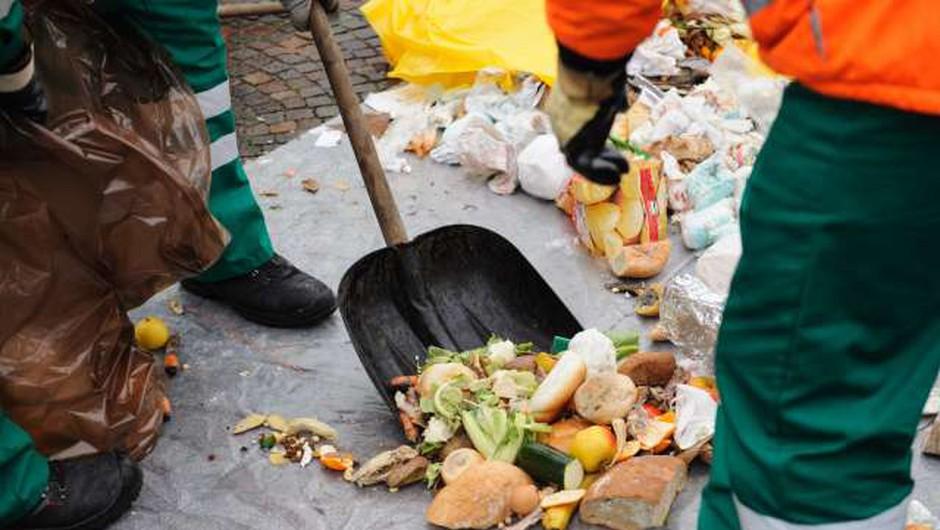 V EU enotna metodologija za merjenje količin zavržene hrane (foto: STA/Nebojša Tejić)