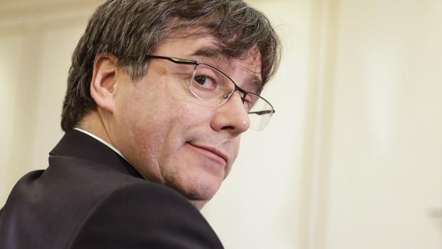 Nekdanji katalonski predsednik Puigdemont prihaja v Ljubljano (foto: profimedia)