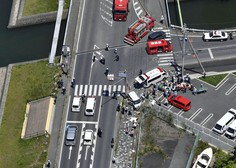 Na Japonskem avto trčil v skupino malčkov; umrla dva dvoletnika