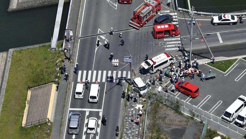 Na Japonskem avto trčil v skupino malčkov; umrla dva dvoletnika (foto: profimedia)