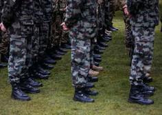Dodatna okrepitev slovenske vojske pri varovanju južne meje