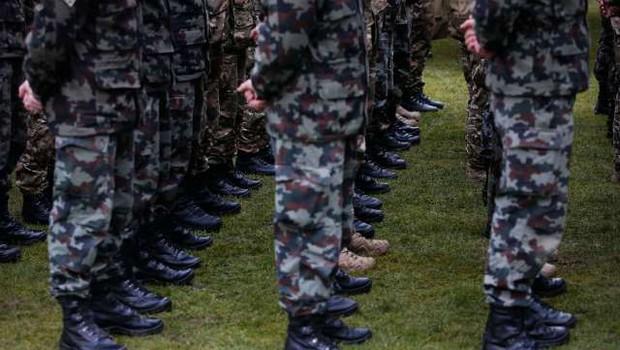 Dodatna okrepitev slovenske vojske pri varovanju južne meje (foto: STA/Anže Malovrh)