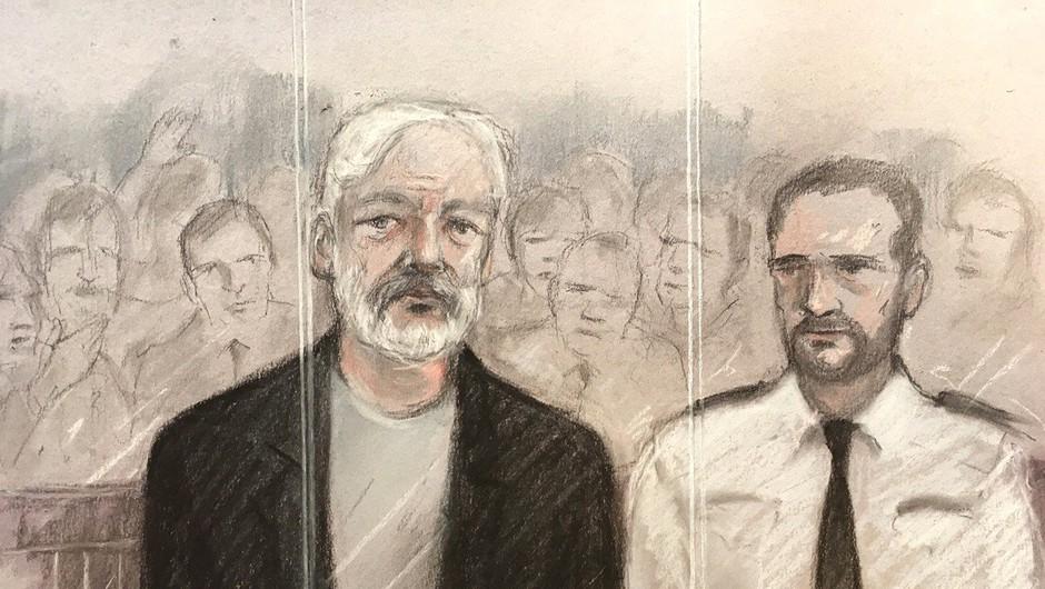 Na Švedskem znova odprli preiskavo Assangea zaradi domnevnega posilstva (foto: profimedia)