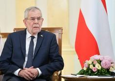 Avstrijski predsednik Van der Bellen predlagal predčasne volitve v septembru